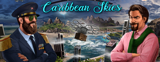 Tropico 6 Caribbean Skies key art horizontal 750x290 1