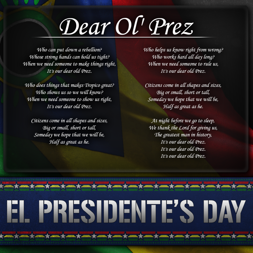 pres day song